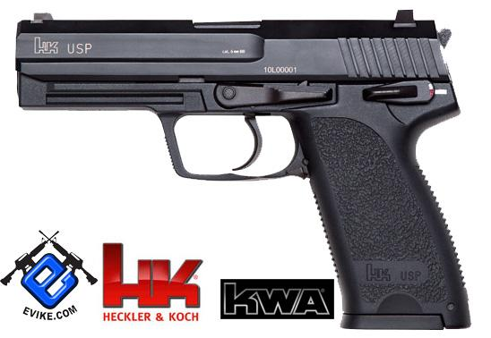 Bone Yard - Full Metal USP NS2 Airsoft Gas Blowback Gun by KWA (Store Display, Non-Working Or Refurbished Models)