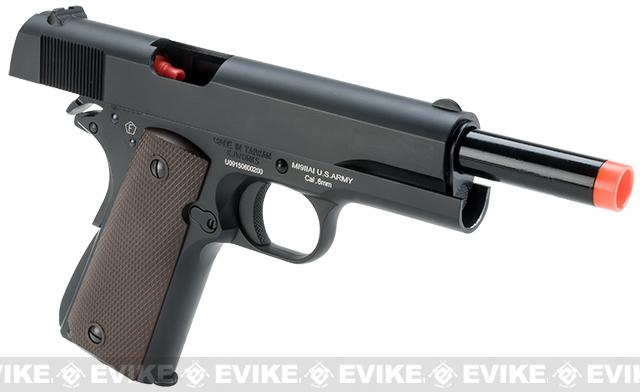 Colt Licensed M1911A1 GI Full Metal Airsoft Gas Blowback by KJW