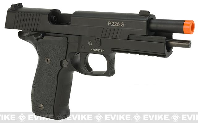 Cybergun Licensed KWC Sig Sauer P226 X-FIVE Full Metal CO2 GBB Airsoft Blowback