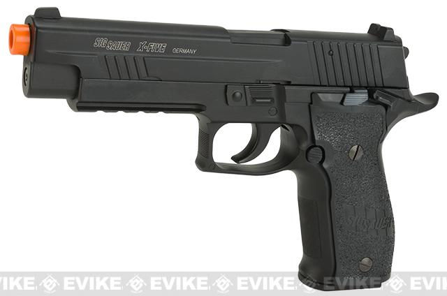 Pre-Order ETA July 2017 Cybergun Licensed KWC Sig Sauer P226 X-FIVE Full Metal CO2 GBB Airsoft Blowback