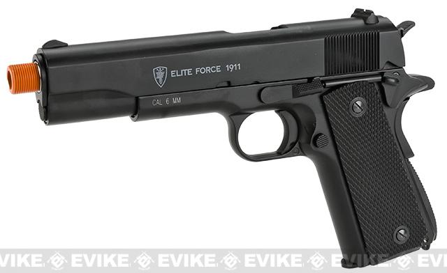 Pre-Order ETA September 2015 Elite Force Full Metal 1911 A1 CO2 Airsoft Gas Blowback Pistol Umarex KWC