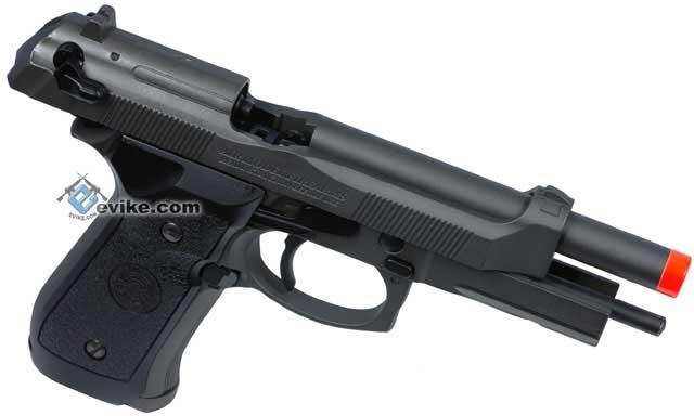 New Version HFC Full Metal / Fully Automatic Select Fire Airsoft M9 Special Force Gas Blowback