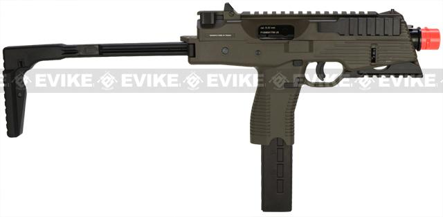 KWA KMP9 New Version Railed Gas Blowback Airsoft Submachine Gun (NS2 System) - Ranger Grey