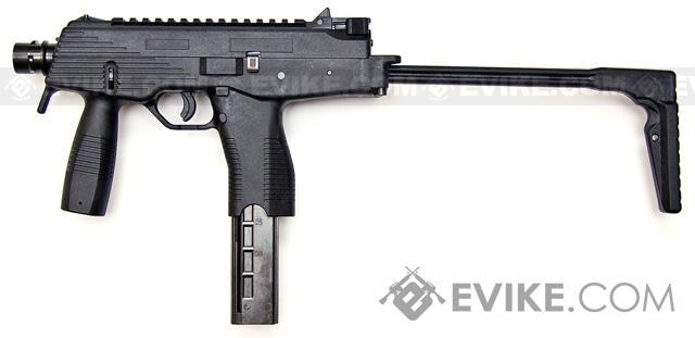 KWA KMP9 New Version Gas Blowback Airsoft Submachine Gun (NS2 System) - Black