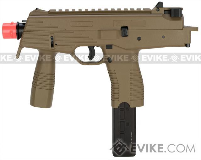 KWA KMP9 Gas Blowback Airsoft Submachine Gun (Color: Dark Earth w/ Grip)