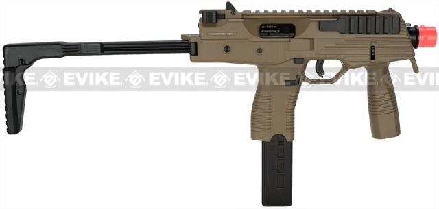 Pre-Order ETA April 2017 KWA KMP9 New Version Gas Blowback Airsoft Submachine Gun (NS2 System) - Dark Earth