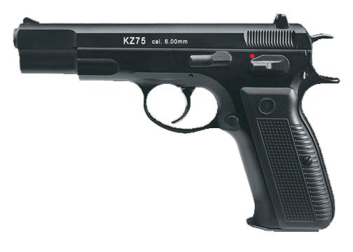 z Bone Yard - KWA KZ75 NS2 Metal Gas Blowback Airsoft Pistol (Store Display, Non-Working Or Refurbished Models)