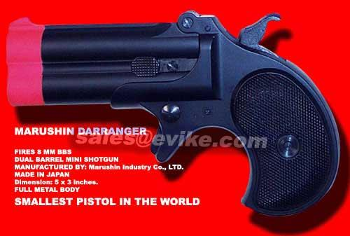 z MARUSHIN Derringer GAS 8MM MINI PISTOL
