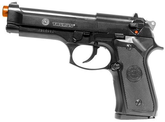 SoftAir Full Metal M9 Taurus Licensed Airsoft Gas Blowback by KJW