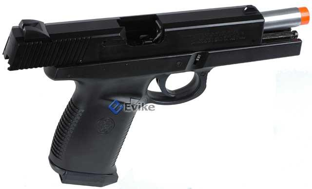 z Smith & Wesson Licensed Sigma SW40F Airsoft Gas Blowback GBB by KWC