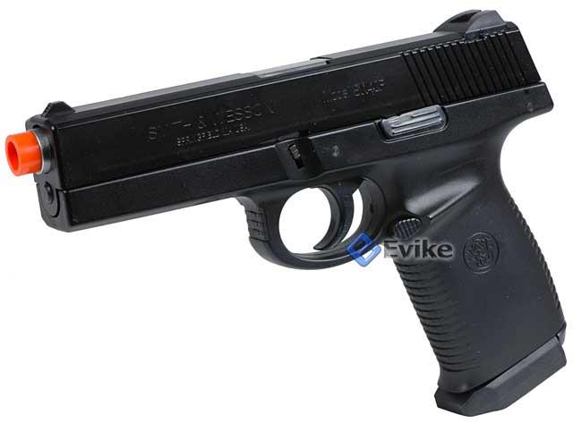 Smith & Wesson Licensed Sigma SW40F Airsoft Gas Blowback GBB by KWC