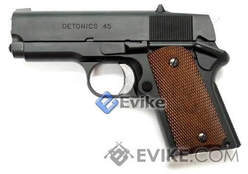 Bone Yard - Matrix Elite Detonics 1911 .45 Airsoft Gas Blowback GBB Pistol (Store Display, Non-Working Or Refurbished Models)