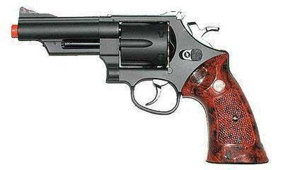 UHC Heavy Weight Full Size 4 inch Gas Revolver