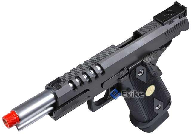WE Full Metal Hi-CAPA 5.1 Hyper Speed Airsoft Gas Blowback w/ Threaded Barrel