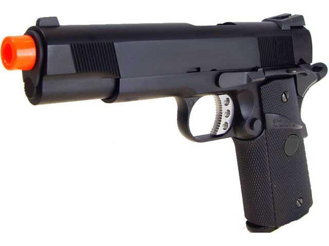 Pre-Order ETA August 2016 WE CQB Master Full Metal 1911 MEU Heavy Weight Airsoft Gas Blowback