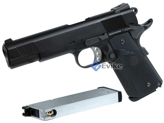 WE CQB Master Full Metal 1911 MEU Heavy Weight Airsoft Gas Blowback