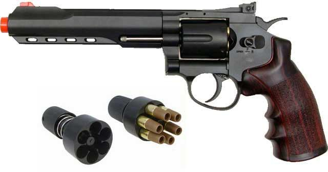 Bone Yard - WG CO2 Full Metal Airsoft 6mm Magnum Revolver (Store Display, Non-Working Or Refurbished Models)