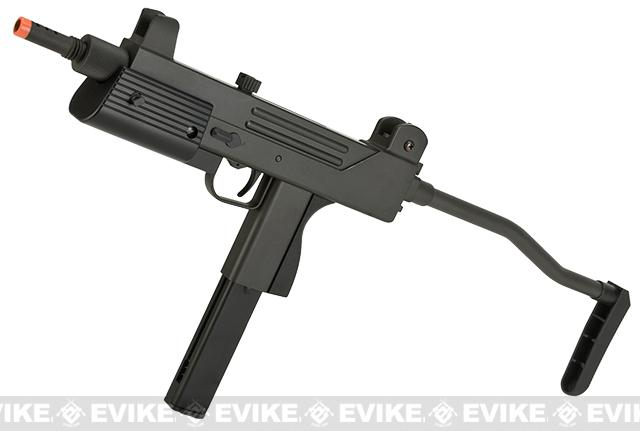 HFC Full Metal T77 Mac11 Select Fire Airsoft Sub Machine Gun