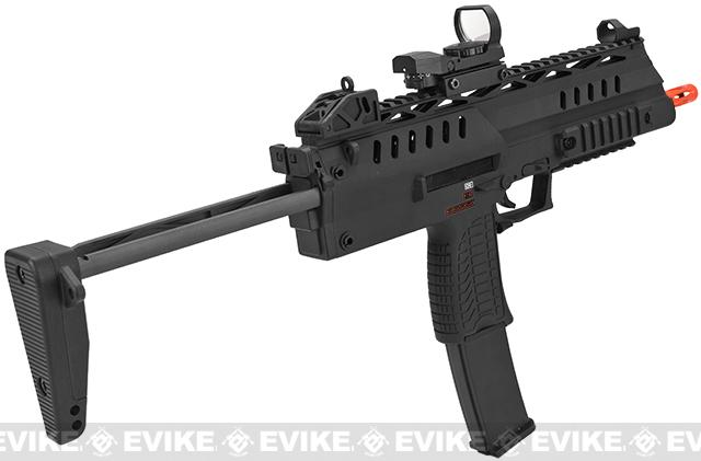 WE-Tech SMG-8 (NG3) Airsoft GBB Sub Machine Gun - Black