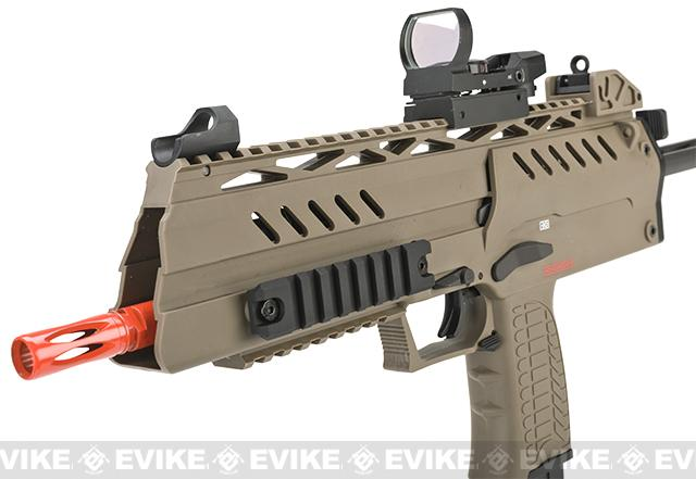 WE-Tech SMG-8 (NG3) Airsoft GBB Sub Machine Gun - Tan