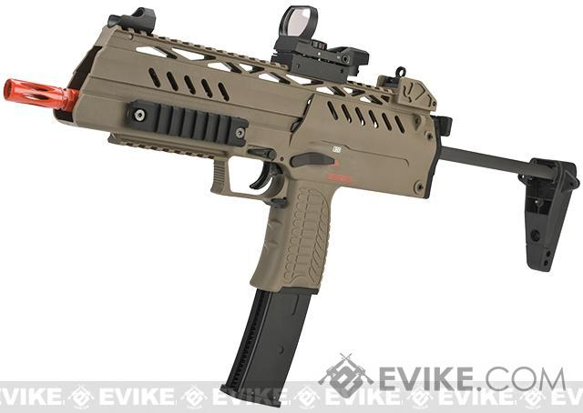 WE-Tech SMG-8  Airsoft GBB Sub Machine Gun - Tan