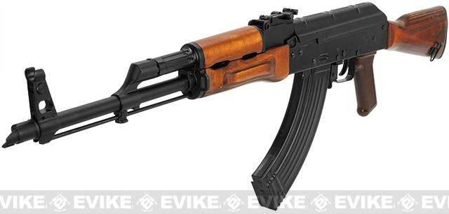 GHK Full Metal AKM Airsoft GBB Rifle with Real Wood Furniture