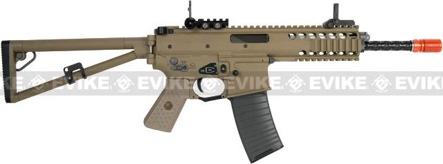 z WE PDW Carbine Full Metal Airsoft Gas Blowback GBB Rifle w/ 2 Mag - Tan (New Open Bolt System)