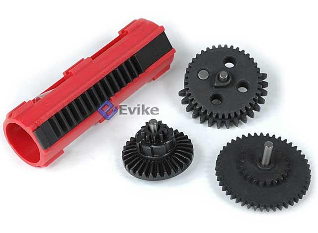 AIM Tornado Infinity Torque Gear Set w/ Hell-Fire Piston for Airsoft AEG Rifles