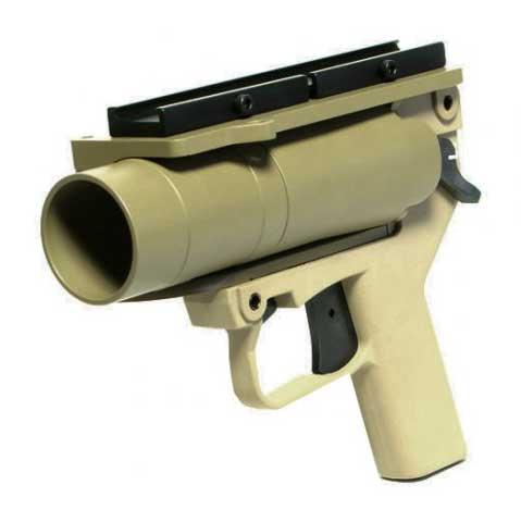 Mad Bull Limited Edition AGX Airsoft Grenade Launcher Pistol w/ Mount (Desert Tan)