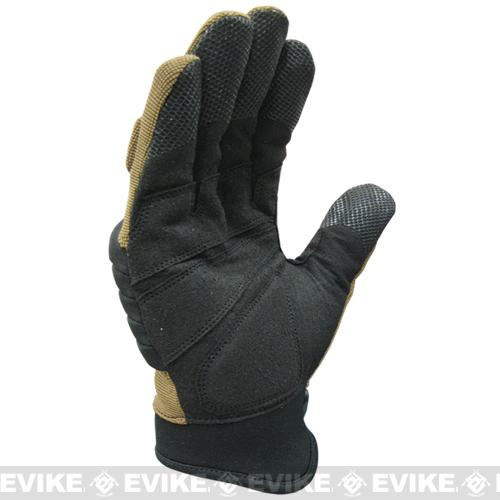Condor STRYKER Tactical Gloves - Tan (Size: X-Large)