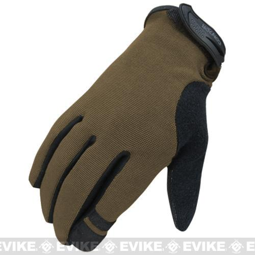 Condor Shooter Tactical Gloves - Tan (Size: X-Large)