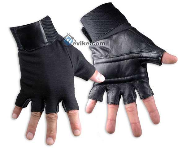 Matrix Special Forces Neoprene Tactical Gloves - Half Finger (Size: Large)