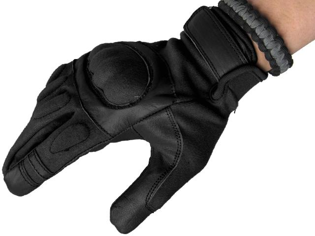 Matrix Nomex Hard Shell Knuckle Tactical Gloves - Black (Size: X-Large)