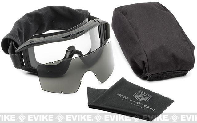 Revision Asian Fit Tactical Locust Goggles - Essential Kit (Black)