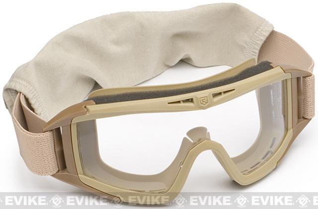 Revision Desert Locust Goggles - Basic (Tan / Clear)