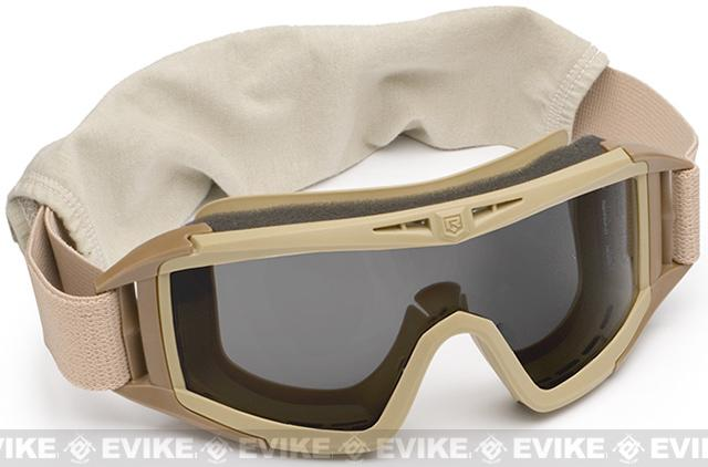 Revision Desert Locust Tactical Goggles - Basic (Tan / Solar)