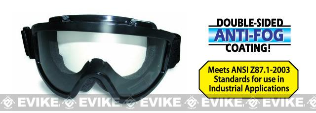 Global Vision Windshield Clear Anti-Fog Full Seal Goggle - Clear