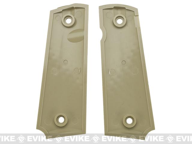WE-Tech Custom Custom Pistol Grip for 1911 Series Pistol - Tan