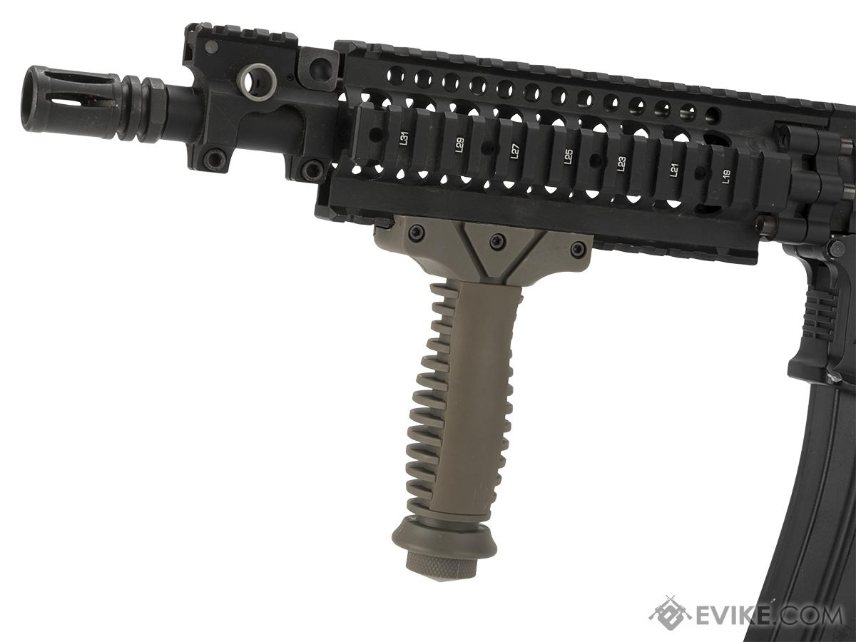 Matrix Polymer Lightweight  Ventilated Vertical Grip (Color: Tan)