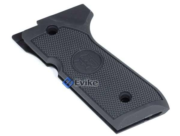 Rubberized M9 Government Style Grip for KJW MARUI WE M9 Series Airsoft GBB Gas Blowback