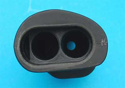 Matrix SPR Type Grip for WA / WE M4 Series Airsoft Gas Blowback Series (Model: Black)