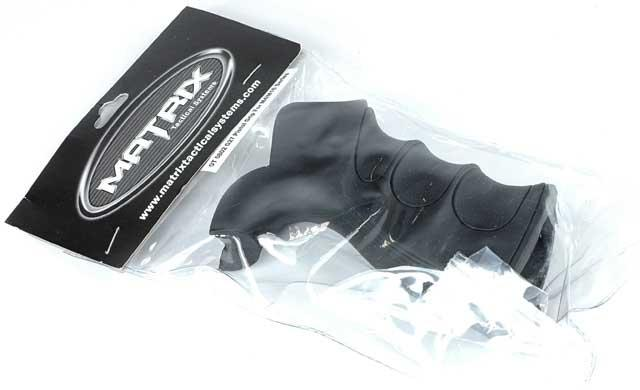 Matrix G27 Grooved Motor Grip for M16 / M4 Series Airsoft AEG Rifle (Mat Black)