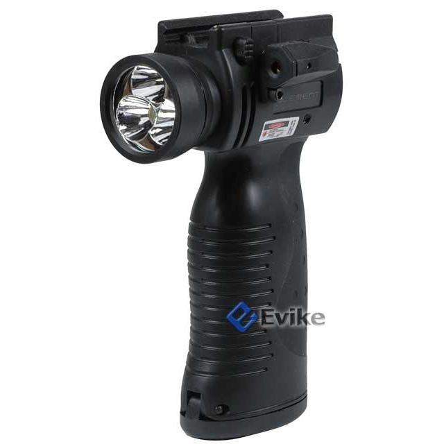 Matrix Element 3xCree LED Flashlight / Strobe Light / Laser Vertical Support Grip Module