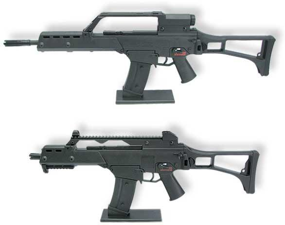 King Arms Display Stand for Airsoft AEG - G36 Series