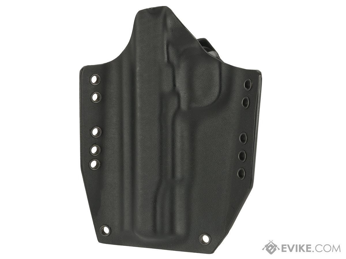 KAOS Concealment Kydex Belt / MOLLE Holster - WE TM KWA 1911 (Right / Black)