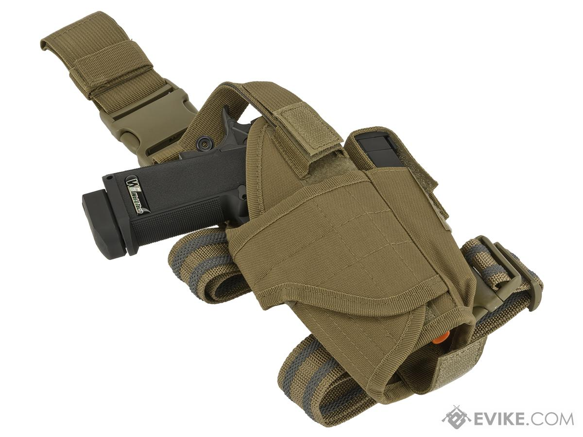Matrix Tornado Universal Tactical Thigh / Drop Leg Holster - Tan