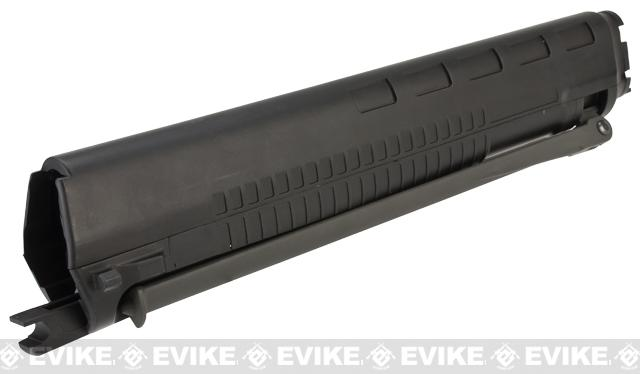 JG Polymer Handguard with Integrated Bipod for SIG 550 Series Airsoft AEG Rifles