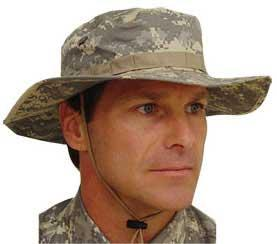 Mil-Spec Boonie Hat  (Size: XL) - 3-Color Desert