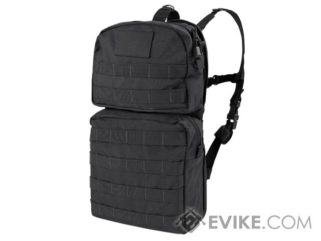 Condor MOLLE Water Hydration Carrier II (Color: Black)