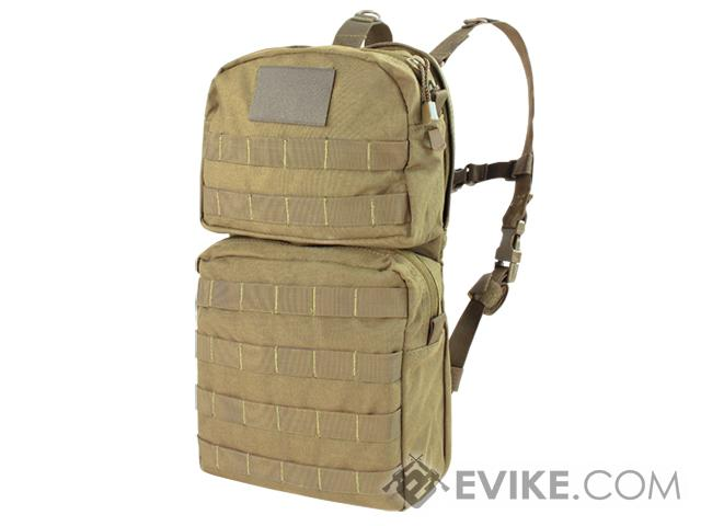 Condor MOLLE Water Hydration Carrier II (Color: Tan)